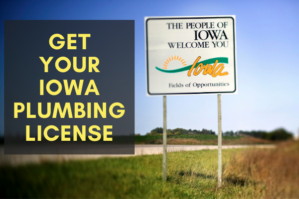 obtain iowa plumbing license