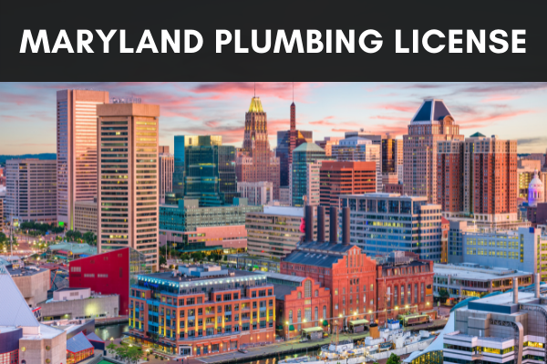 get plumber license in maryland